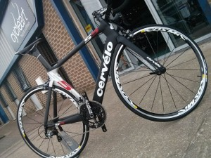 Cervelo S5 outside Cycle Art