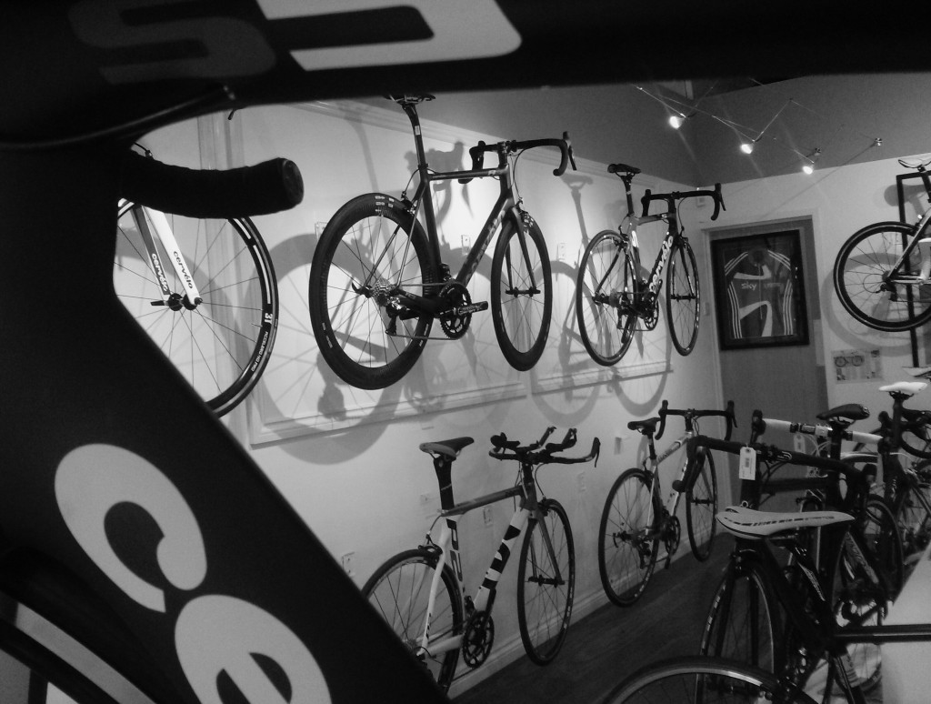 Cycle Art's Cervelo Wall