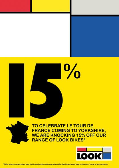 15% off Look bikes